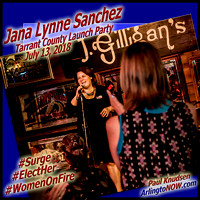 180713 Jana Lynne Sanchez Tarrant County launch party